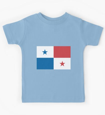 The Flag of Panama  If you like, please purchase an item, thanks Kids Tee