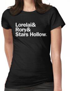 Gilmore Girls - Lorelai & Rory & Stars Hollow | Black Womens Fitted T-Shirt