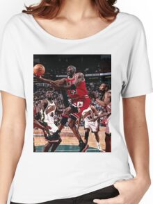 1996 retro basketball Women's Relaxed Fit T-Shirt