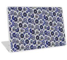 Old Blue Laptop Skin