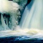 Frozen Waterfall by Angelika  Vogel