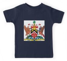 The Coat of Arms of Trinidad and Tobago  If you like, please purchase an item, thanks Kids Tee