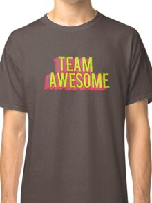 Team Awesome Typography Art Classic T-Shirt