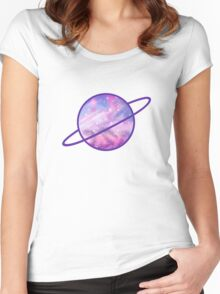 Planetarium Women's Fitted Scoop T-Shirt