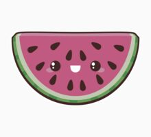 Kawaii Watermelon Slice by pai-thagoras