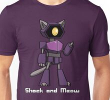 Shock and Meow Unisex T-Shirt