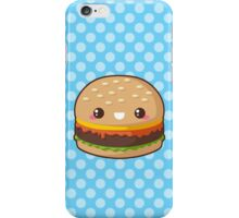 Kawaii Cheeseburger iPhone Case/Skin