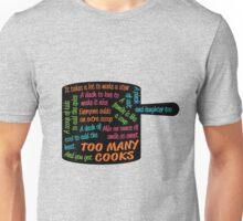 Too Many Cooks Lyrics In Pot Shape Unisex T-Shirt