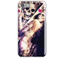 King & Women iPhone Case/Skin