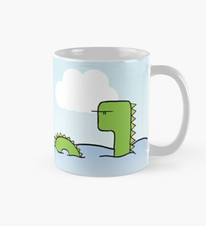 The Skeptical Loch Ness Monster Mug Mug