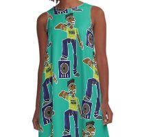 Born Free A-Line Dress