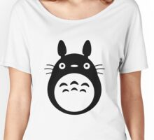 Totoro Black Women's Relaxed Fit T-Shirt
