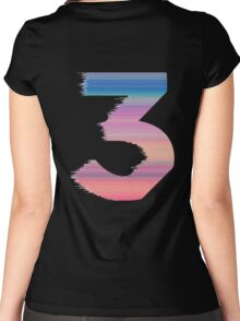 Chance The Rapper - 3 Coloring Book Women's Fitted Scoop T-Shirt