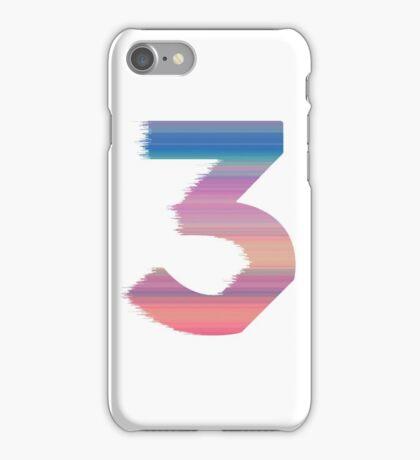 Chance The Rapper - 3 Coloring Book iPhone Case/Skin
