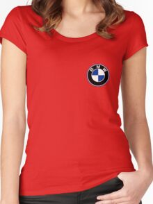 BMW Women's Fitted Scoop T-Shirt