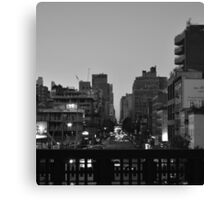 A High Line Avenue Canvas Print