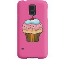 cherry cupcake Samsung Galaxy Case/Skin