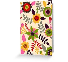 Happy Garden Greeting Card
