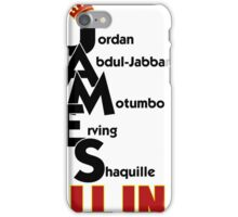Lebron James ALL IN iPhone Case/Skin