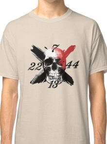 Skull numbers Classic T-Shirt