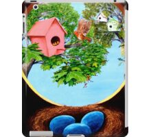Birdhouses iPad Case/Skin