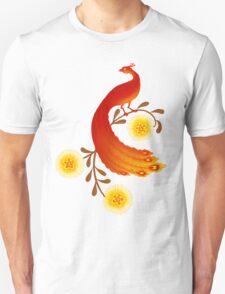 Folk Art Firebird Unisex T-Shirt