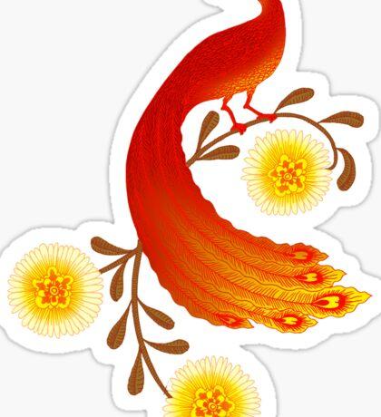 Folklore Firebird Sticker