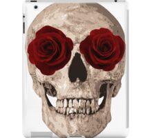 Sweet Skull of Roses  iPad Case/Skin