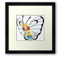 (Butter)free Framed Print