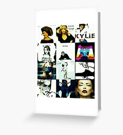 Kylie Albums Greeting Card