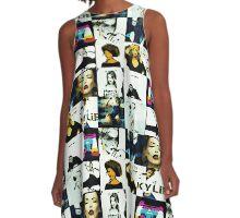 Kylie Albums A-Line Dress