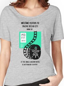 Pacific Ocean Film Festival  Women's Relaxed Fit T-Shirt