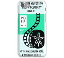 Pacific Ocean Film Festival  iPhone Case/Skin