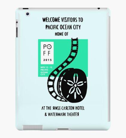 Pacific Ocean Film Festival  iPad Case/Skin