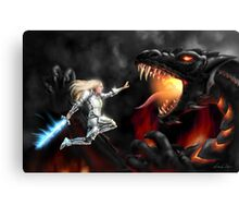 Dragon Slayer Canvas Print