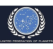 Star Trek - United Federetion of planets Photographic Print