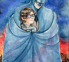 Cold night in Gotham... by Hybryda