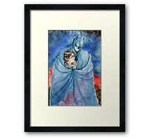 Cold night in Gotham... Framed Print