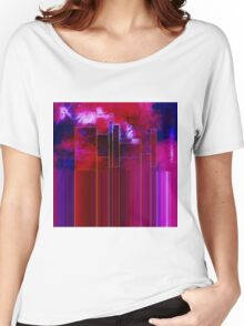 A Stormy Night in the City Women's Relaxed Fit T-Shirt
