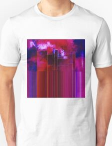 A Stormy Night in the City Unisex T-Shirt