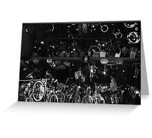 West Village cycles Greeting Card