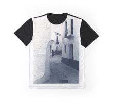 Figure In A Spanish Alley Graphic T-Shirt