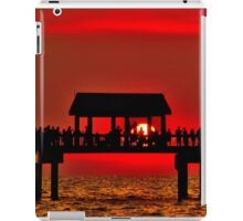 Touching The Sunset iPad Case/Skin