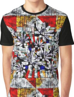 Daisy Abstract after Mondrian Graphic T-Shirt