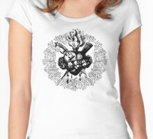 Faith's Heart Women's Fitted Scoop T-Shirt