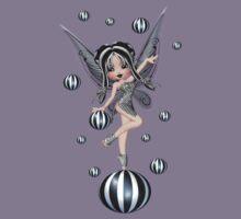 Enchanting Fae .. the black bubble fairy Kids Clothes