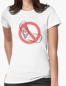 No Catcalling Womens Fitted T-Shirt