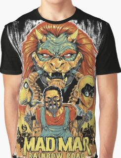 Mad Mar: Rainbow Road Graphic T-Shirt