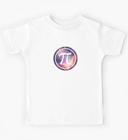 PI - Universum / Space / Galaxy  Nerd & Geek Style Kids Clothes