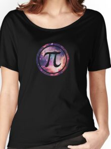 PI - Universum / Space / Galaxy  Nerd & Geek Style Women's Relaxed Fit T-Shirt